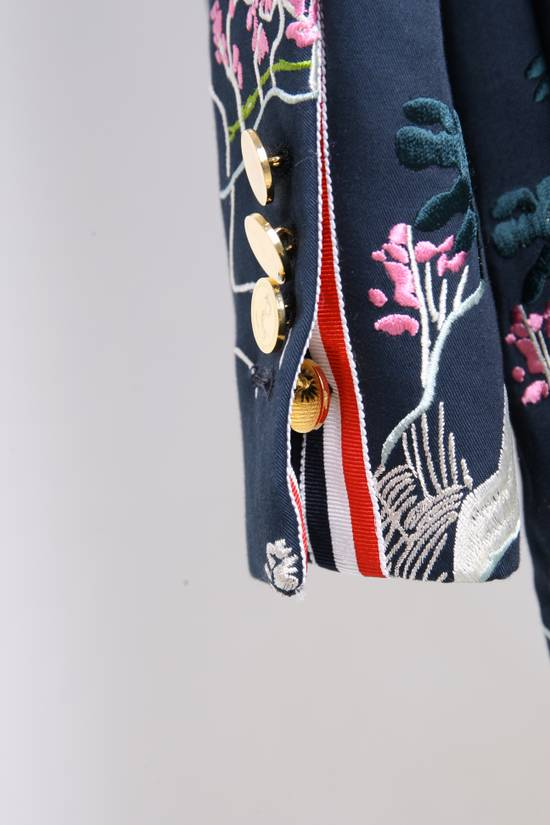 Thom Browne Japanese Garden Navy Coat Size US S / EU 44-46 / 1 - 4