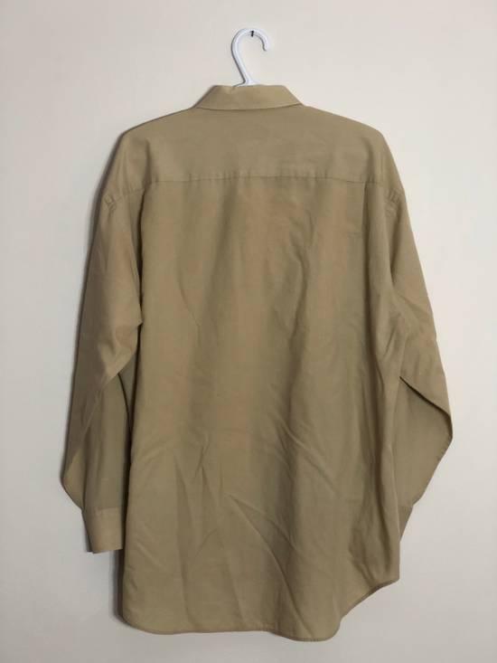Balmain khaki button up Size US XL / EU 56 / 4 - 2
