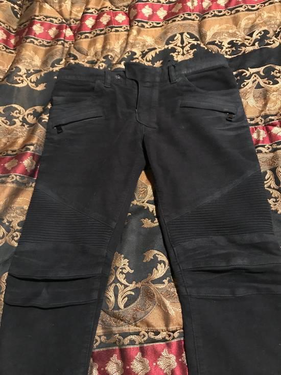 Balmain Black Moleskin Denim Size US 30 / EU 46 - 3
