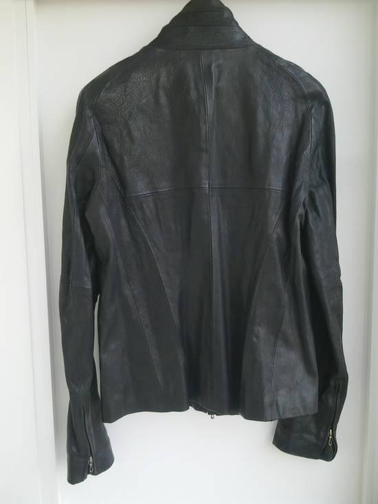 Julius Julius high collar Leather Jacket Size US L / EU 52-54 / 3 - 3