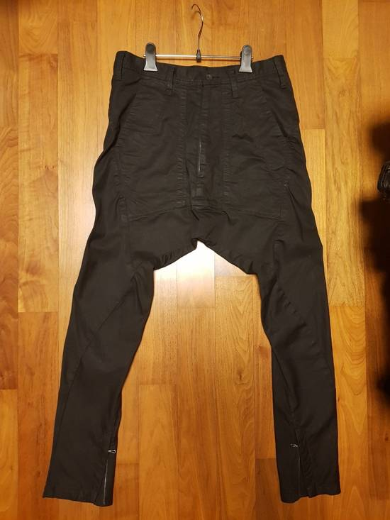 Julius Pre Spring 18 Jodphur Dropcrotch Stretch Denim Pants Size US 30 / EU 46 - 1