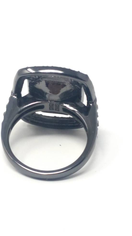 Givenchy Gunmetal ring size 8 Size ONE SIZE - 5