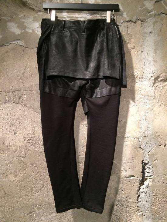 Julius Leather Skirt Pants Size US 34 / EU 50 - 1