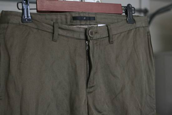 Julius SS07 Cotton-Rayon-Metal 2x Layer Pants Size US 30 / EU 46 - 3