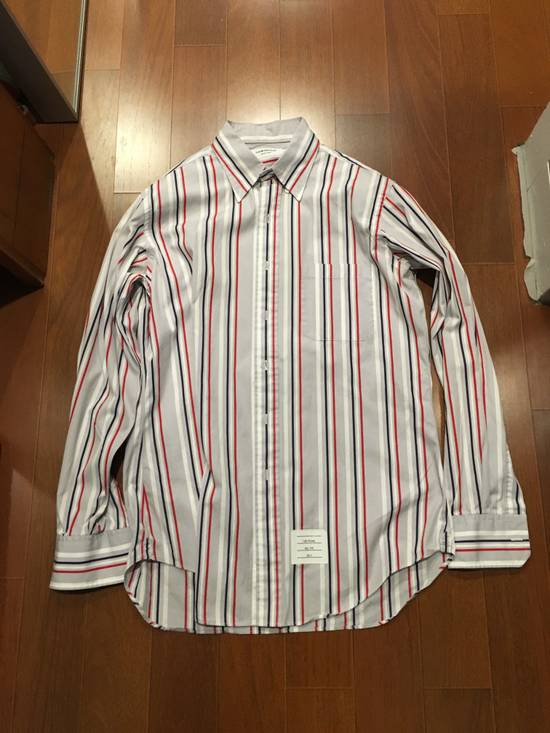 Thom Browne TB stripes, button-down striped oxford Size US L / EU 52-54 / 3