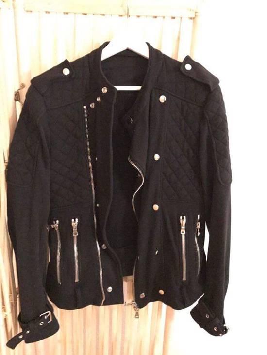 Balmain Biker Moto Sweat Jacket Size US M / EU 48-50 / 2