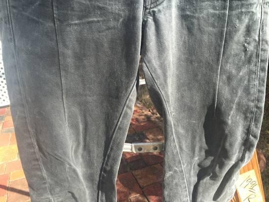 Julius AW10 Goth_ik Spiral Leg Zip Hem Denim Size US 30 / EU 46 - 3