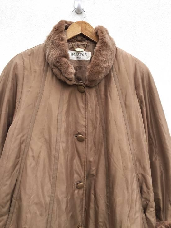 Balmain Balmain Paris Authentic Silk Fur Oversized Long Jacket Size US L / EU 52-54 / 3 - 4