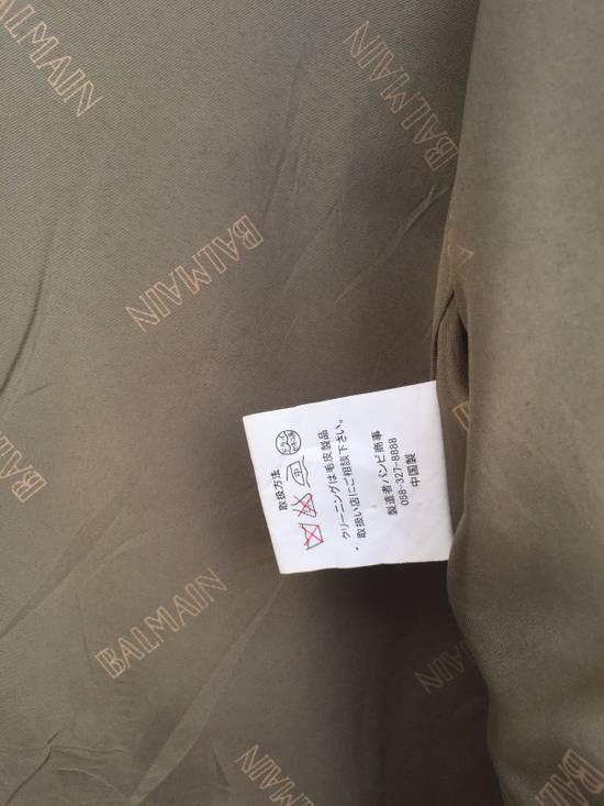 Balmain Rare!! Balmain Bomber Hooded with Detachable Hoodie Medium Size Size US M / EU 48-50 / 2 - 11