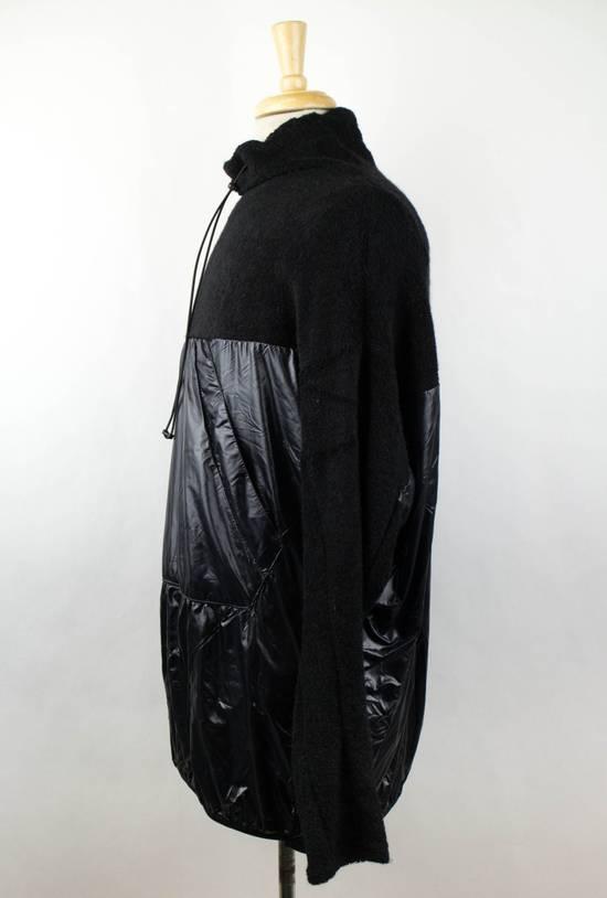 Julius 7 Black Wool Blend W/ Drawstring Pullover Sweater Size 3/M Size US M / EU 48-50 / 2 - 2