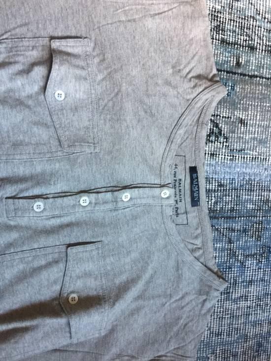 Balmain Balmain grey tee shirt Size US M / EU 48-50 / 2 - 2