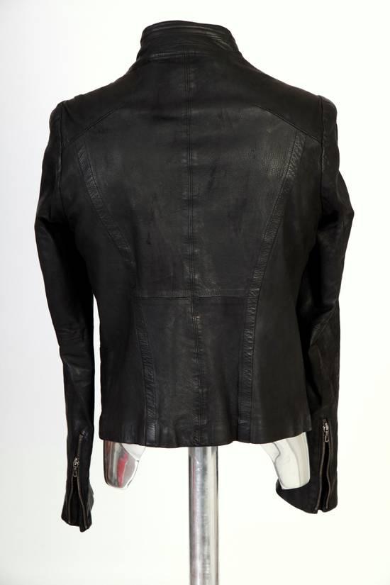 Julius Julius Dove Tail Leather Jacket EU46 Small Size 2 S/S 2012 Size US S / EU 44-46 / 1 - 3
