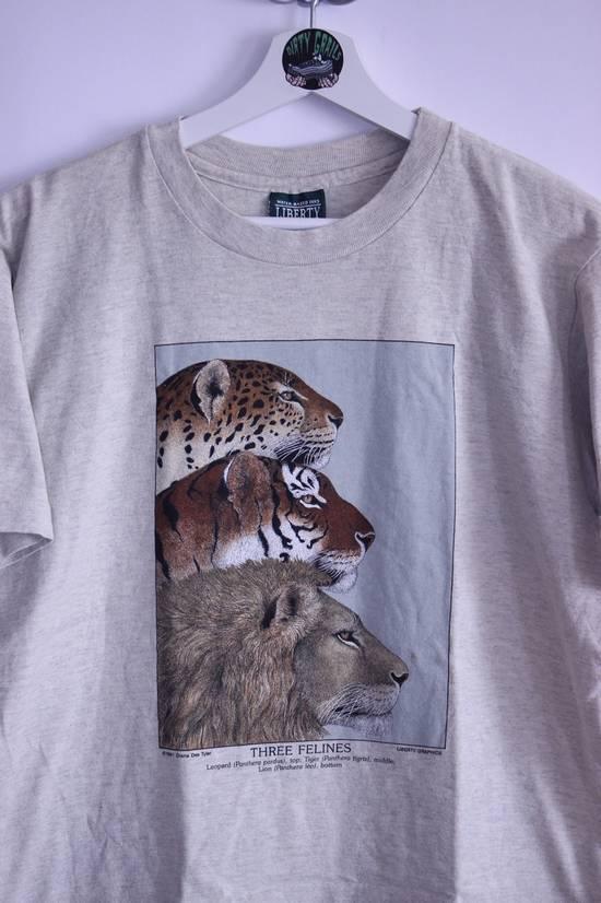 Tee Shirt Vintage Animal Busch Gardens Zoo Single Stitch T Shirt 1991 Size US M / EU 48-50 / 2 - 1