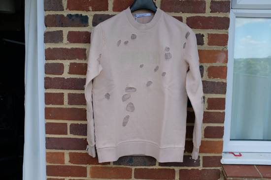Givenchy Pink Destroyed Logo Sweater Size US S / EU 44-46 / 1
