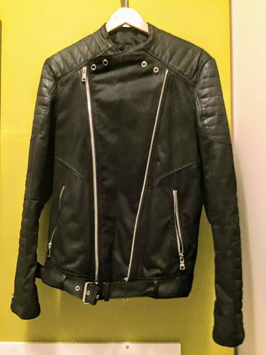 Balmain Balmain Waxed cotton moto jacket Size US M / EU 48-50 / 2 - 5