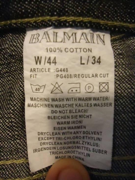 Balmain Black Jeans Size US 42 / EU 58 - 3