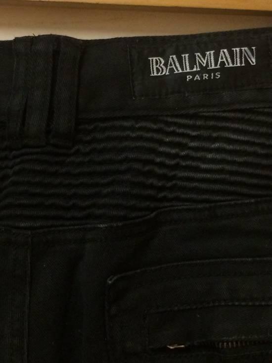 Balmain BALMAIN BIKER DENIM DESIGN Size US 32 / EU 48 - 11