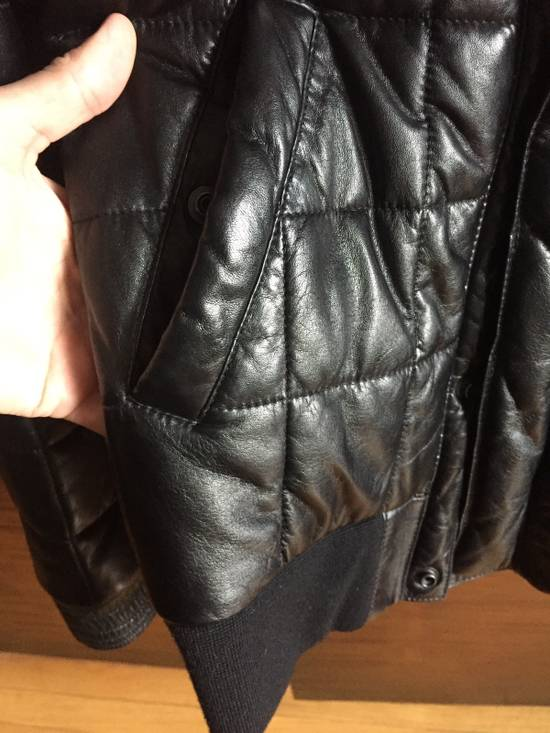Balmain Balmain Homme Rare Leather Puffer List $6590 Size US S / EU 44-46 / 1 - 6