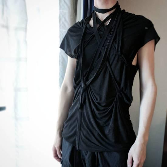Julius SS11 Black Multi-strap Drapey Sleeveless Top Size US S / EU 44-46 / 1