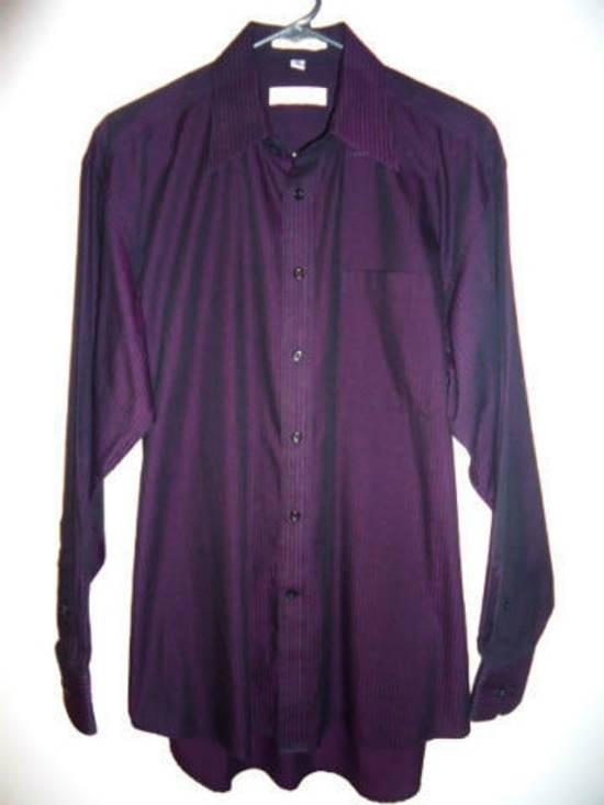 Balmain Button Down Striped Shirt Size US M / EU 48-50 / 2