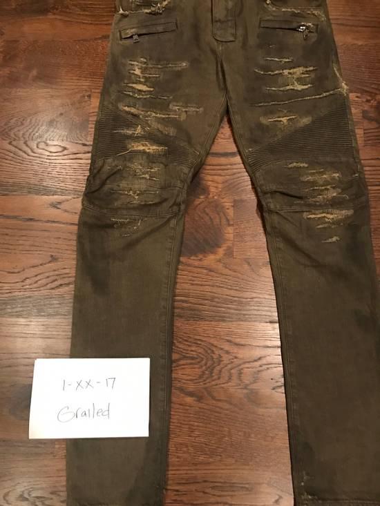 Balmain Balmain Biker Denim Jeans Size US 34 / EU 50 - 3