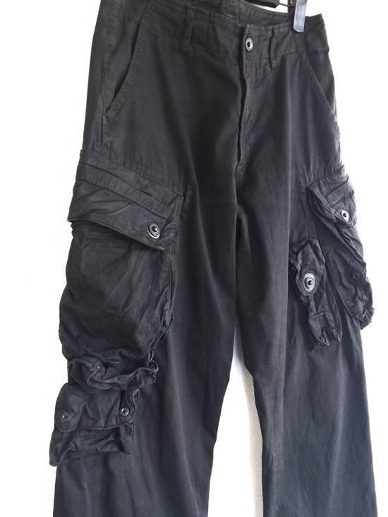 Julius Julius 09/SS Canon_1 The Possessed Gasmask Cargo Pants Size US 30 / EU 46 - 1