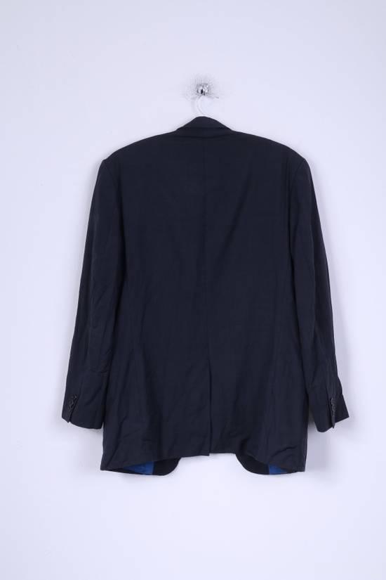 Balmain Balmain Mens 40 M Jacket Navy Wool Single Breasted Blazer 4515 Size 40R - 6