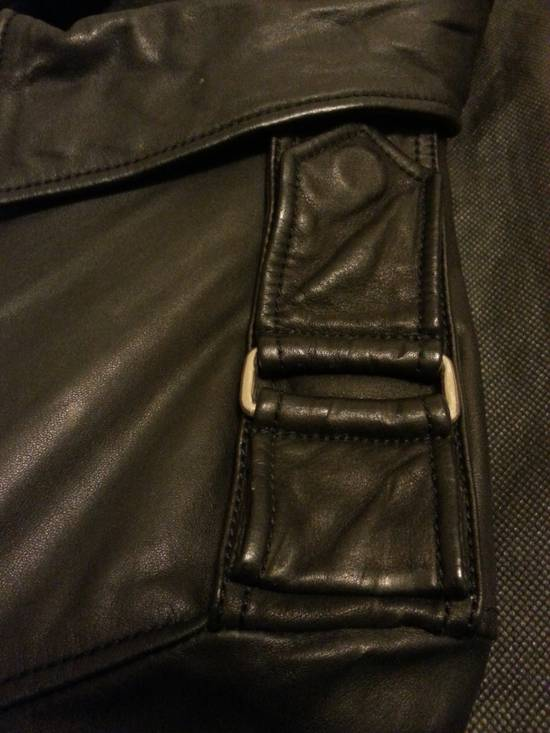 Balmain Safety Pin Leather Biker Jacke Size US M / EU 48-50 / 2 - 13