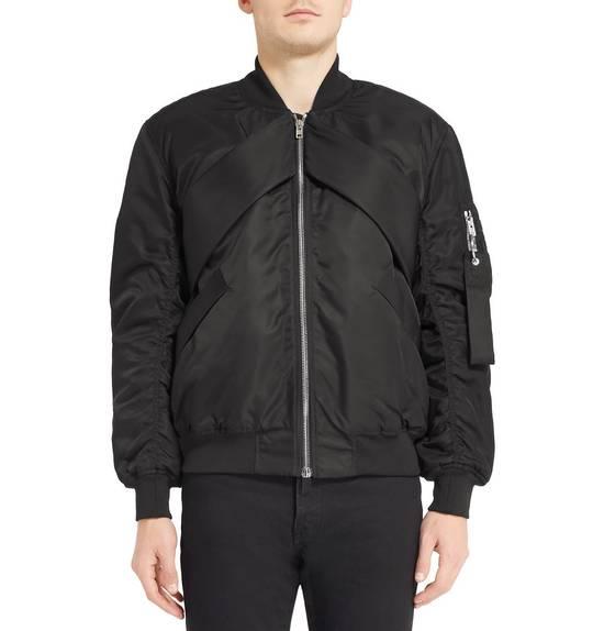 Givenchy Givenchy Black Banded Rottweiler Nylon Shell Bomber Jacket 2014 size 48 (M) Size US M / EU 48-50 / 2 - 5