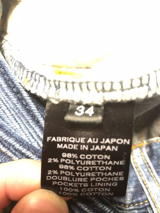 Balmain Balmain Navy Distressed Biker Jeans Size US 34 / EU 50 - 7