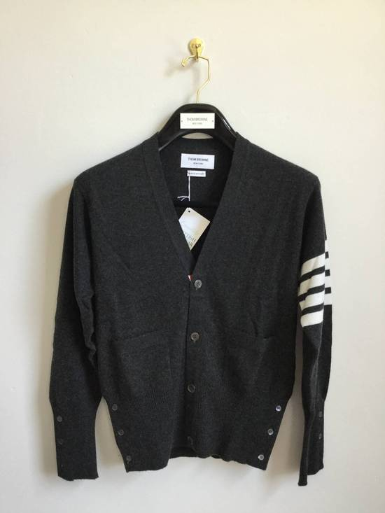 Thom Browne Brand New Cardigan Classic Dark Grey size 2 Size US M / EU 48-50 / 2