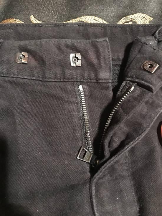 Balmain Black Moleskin Denim Size US 30 / EU 46 - 6