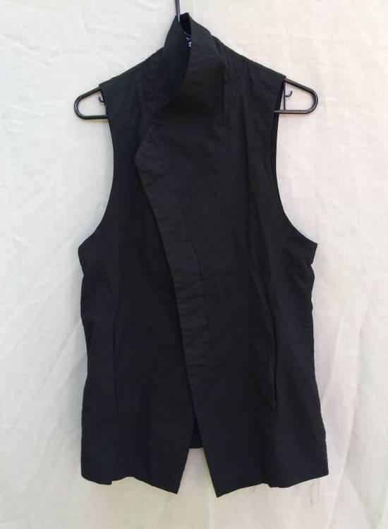 Julius Black Poplin Vest ss13 Size US M / EU 48-50 / 2 - 1