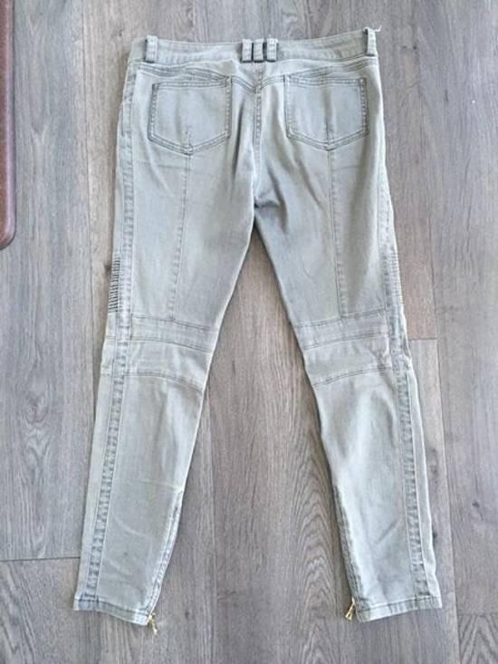 Balmain Stretch Denim Cotton Biker Jeans Size US 26 / EU 42 - 11