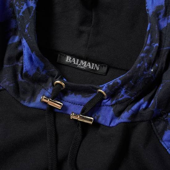 Balmain LAST DROP Balmain Paris Black and Blue Hoodie Size US S / EU 44-46 / 1 - 2
