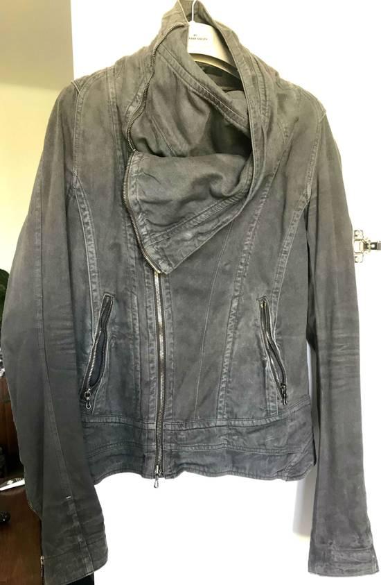 Julius Waxed distressed denim jacket Size US S / EU 44-46 / 1 - 2