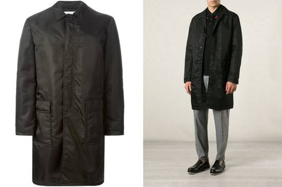Givenchy $3200 Givenchy Long Padded Nylon Rottweiler Shark Overcoat Jacket size M (L) Size US M / EU 48-50 / 2 - 2