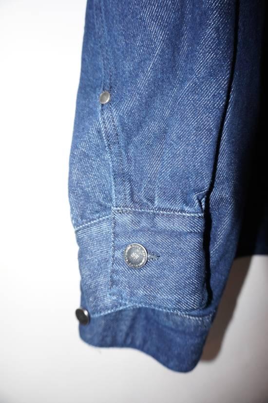 Raf Simons SS18 Raf Simons Oversized Denim New Order Jacket Size US S / EU 44-46 / 1 - 2