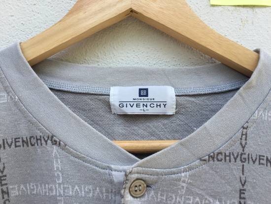 Givenchy Vintage Givenchy Spellout Logo Printed Long Sleeve Tshirt Size US L / EU 52-54 / 3 - 12