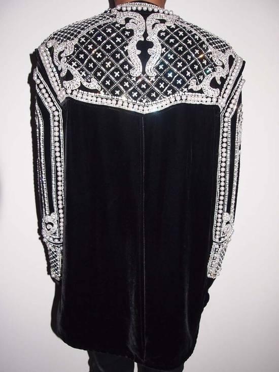 Balmain Balmain Fall 2012 Swarovski Crystal & Pearl Jacket Size US XL / EU 56 / 4 - 1