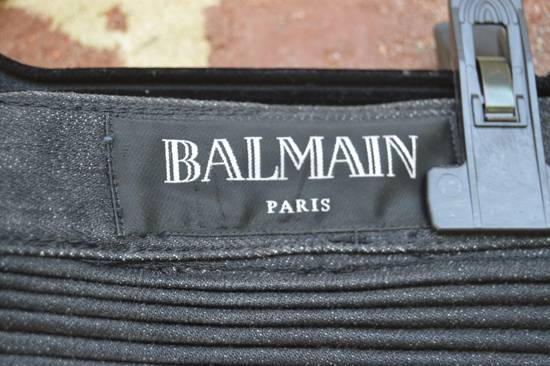Balmain Black Biker Jeans Size US 30 / EU 46 - 3