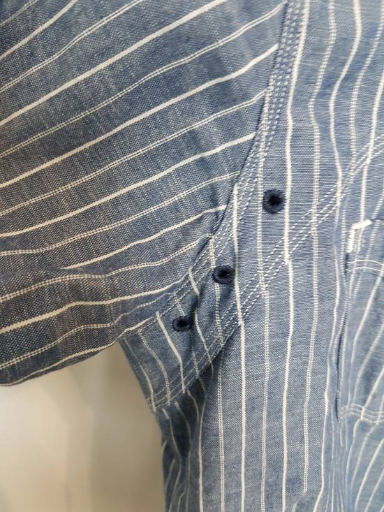 Sunny Sports Striped vented chambray work shirt Size US XS / EU 42 / 0 - 5