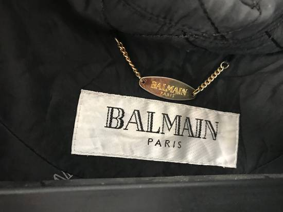 Balmain Vintage down jacket Balmain Big logo printing authentic Size US M / EU 48-50 / 2 - 4