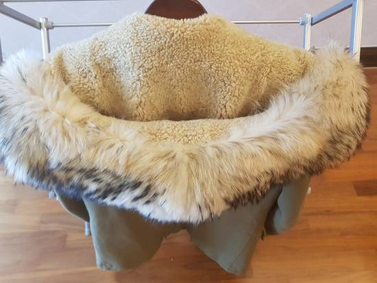 Balmain 11 fw Raccoon Fur Long Parkas Size US M / EU 48-50 / 2 - 6