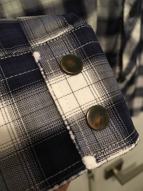 Balmain AW10 Shadow Plaid Western Shirt Size US S / EU 44-46 / 1 - 2