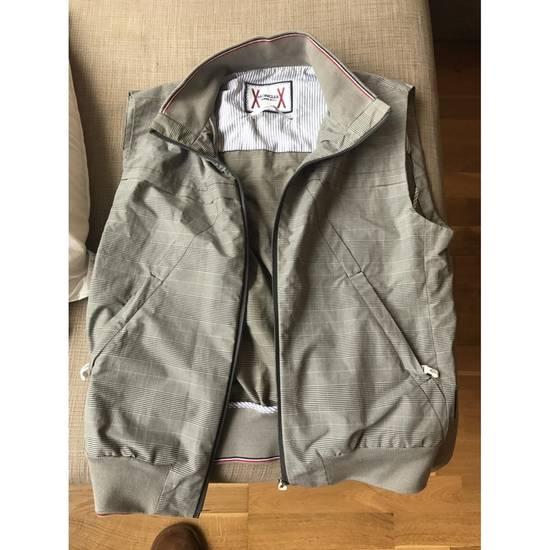 Thom Browne $1880 Moncler Gamme Bleu Checker Vest Size 2 Size US M / EU 48-50 / 2