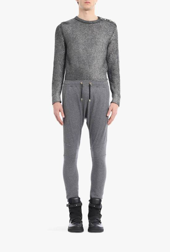 Balmain Balmain Authentic $590 Grey Sweatpants Jogger Size L Brand New Size US 34 / EU 50