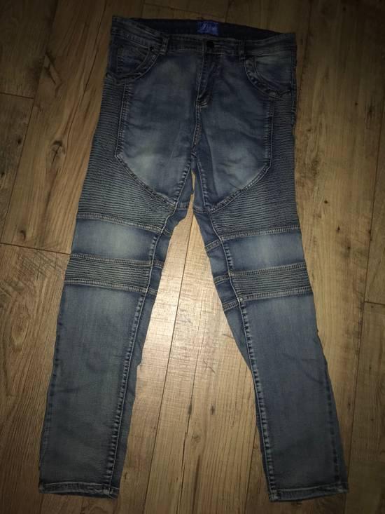 Balmain Feinste Biker Jeans Size US 32 / EU 48