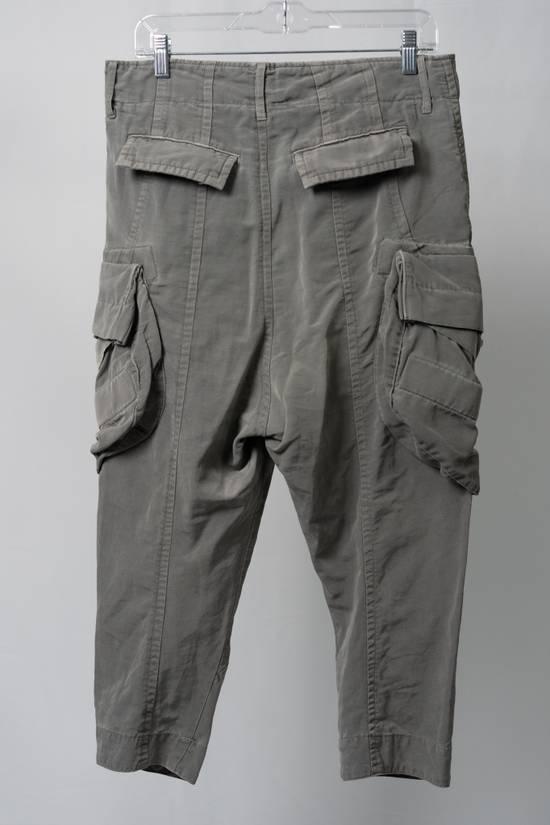Julius SS12 'Edge' Grey Gasmask Cargo Cropped Pants Size US 31 - 3