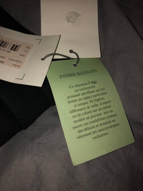 Balmain PIERRE BALMAIN Sweatpants biker black size 50 Size US 34 / EU 50 - 9